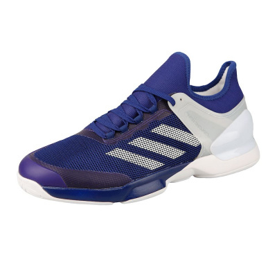 "Adidas ""Adizero Ubersonic 2"" Fencing Shoes Blue/White"